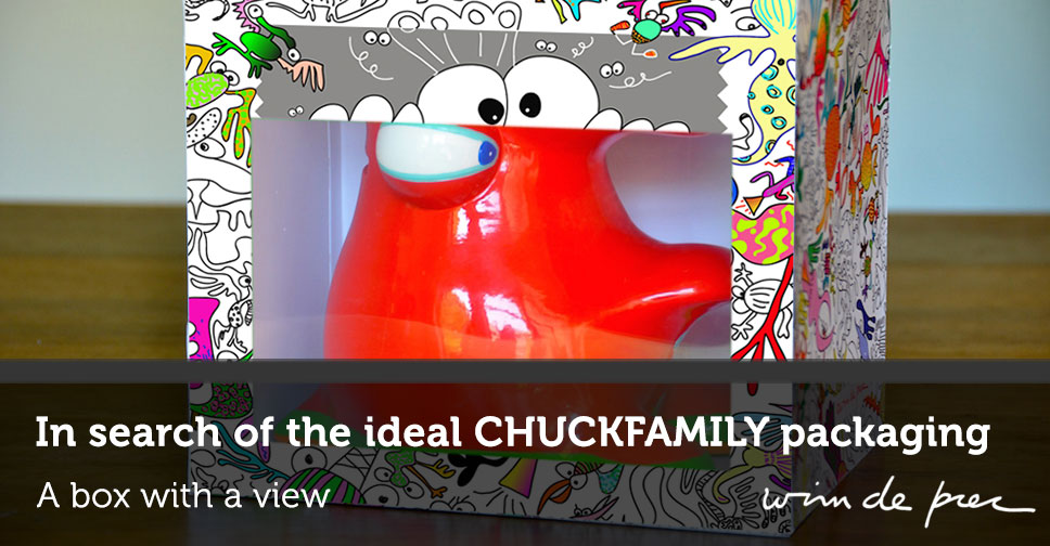 In search for the ideal CHUCKFAMILY packaging - Wim De Prez