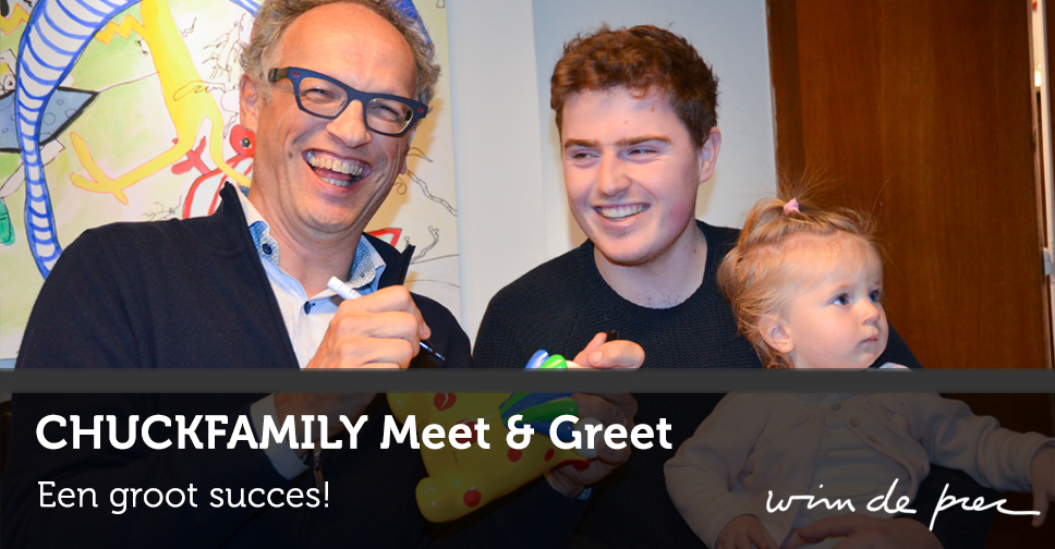 CHUCKFAMILY meet and greet - 22 november 2015