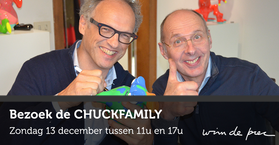 CHUCKFAMILY signeersessie - 13 december 2015